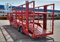 Two Axle Car Carrier Semi Trailer , Car Carrier Semitrailer Two Axle Semitrailer