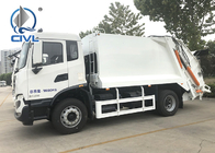 New Sinotruk 266HP Garbage Compactor Truck Euro II 10 tires with Hydraulic Arm Hook Lift