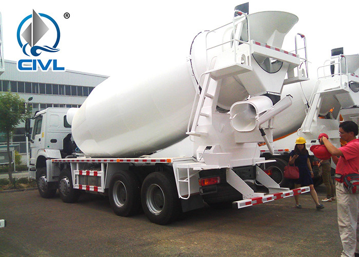 380HP Cement Concrete Mixer Trucks  Sinotruck HOWO 6x4 Mixer truck  Concrete Mixing Equipment